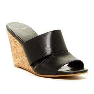 Cole Haan Acoma Wedge II Slide Cork Sandal 11